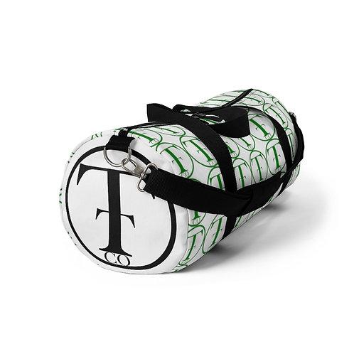 TNTCO. White Duffel Bag (Green)