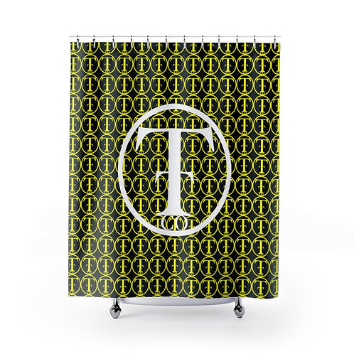 TNTCO Shower Curtains (Yellow)