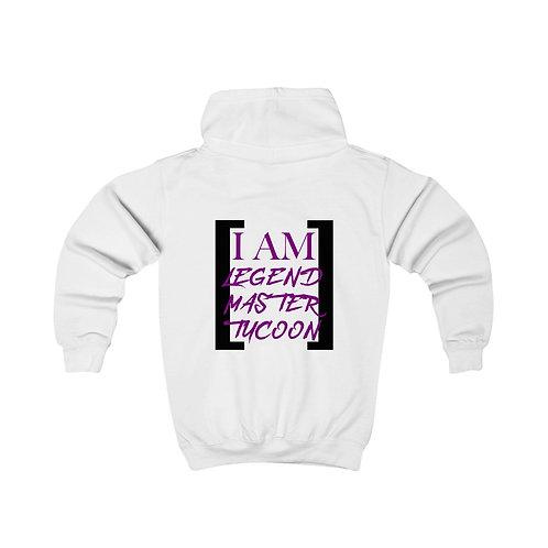 I Am LMT Kids Hoodie (Purple)