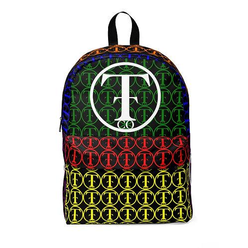 TNTCO Black Unisex Classic Backpack