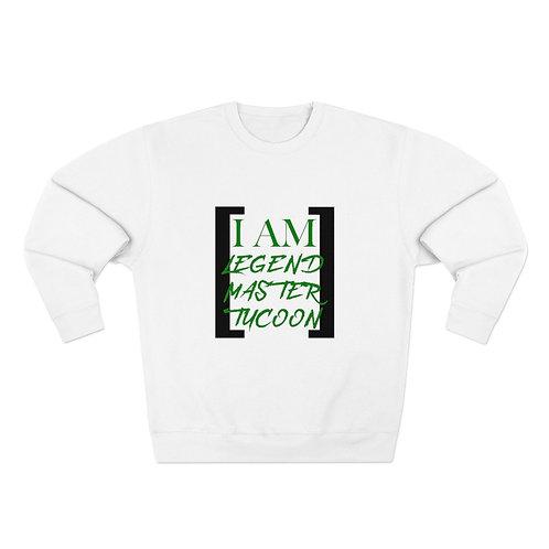 I Am LMT Men's Premium Crewneck Sweatshirt (Green)