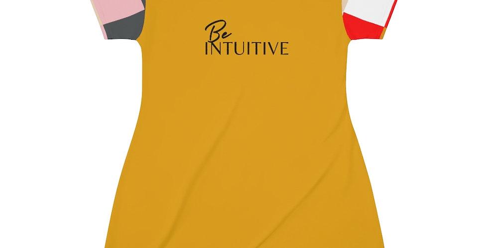 Be INTUITIVE T-Shirt Dress