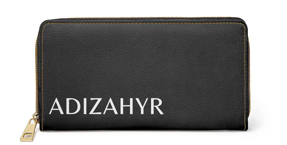 ADIZAHYR Zipper Wallet (Black)