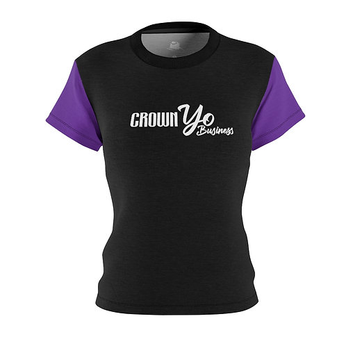 Crown Yo Business Black Women's Tee