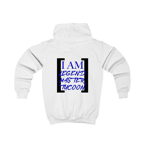 I Am LMT Kids Hoodie (Blue)