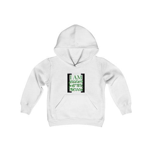 I Am LMT Youth Heavy Blend Hooded Sweatshirt (Green)