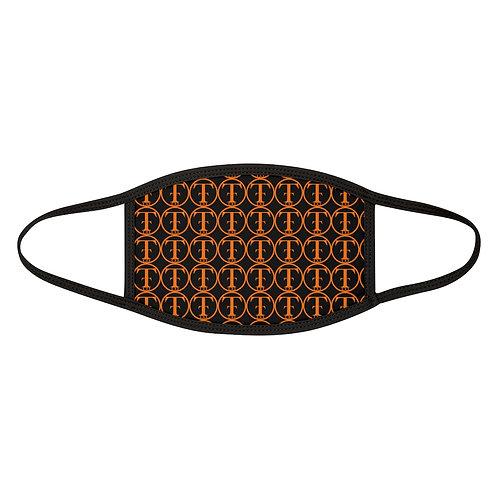 TNTCO Mixed-Fabric Face Mask (Orange)