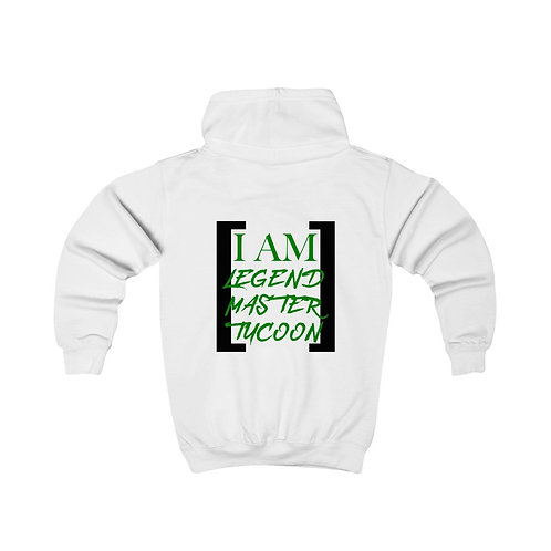 I Am LMT Kids Hoodie (Green)