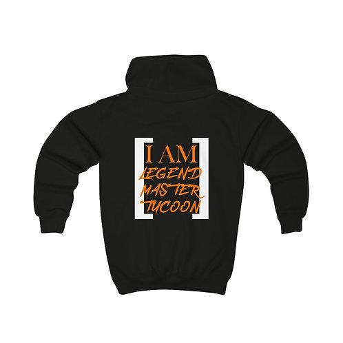 I Am LMT Kids Hoodie (Orange)
