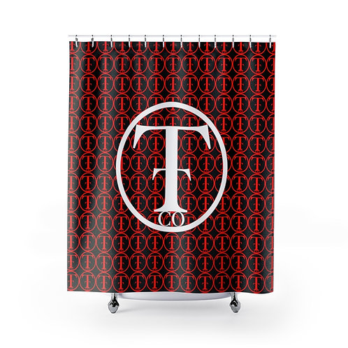 TNTCO Shower Curtains (Red)