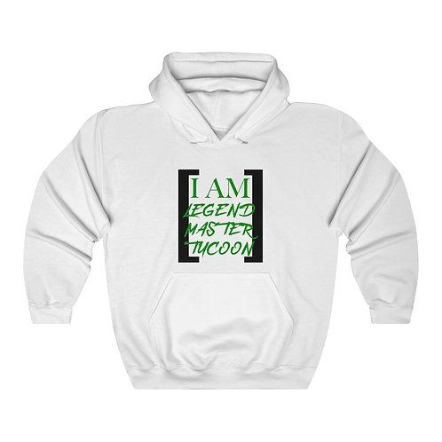I Am LMT Men's Heavy Blend Hooded Sweatshirt (Green)