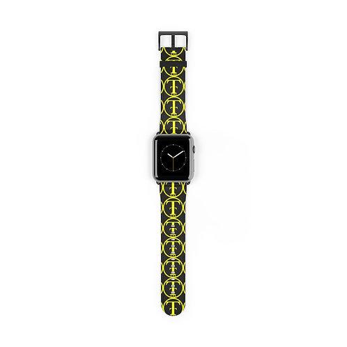 TNTCO Black Watch Band (Yellow)