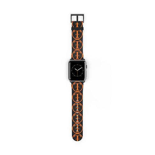 TNTCO Black Watch Band (Orange)