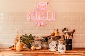Van Brunch food