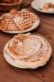 Pancakes, gaufres