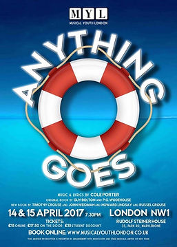 musical youth london anything goes poster