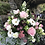 Thumbnail: Medium Gift basket of Seasonal blooms