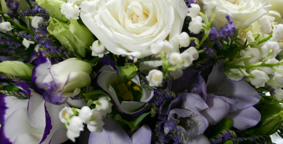 Large Seasonal bouquet of seasonal blooms, delivered locally