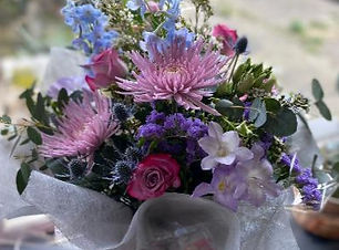 Large Hand-Tied bouquet of season flowers