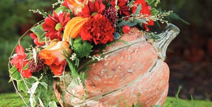 30th October - Facebook Halloween Flower Workshop 10.00