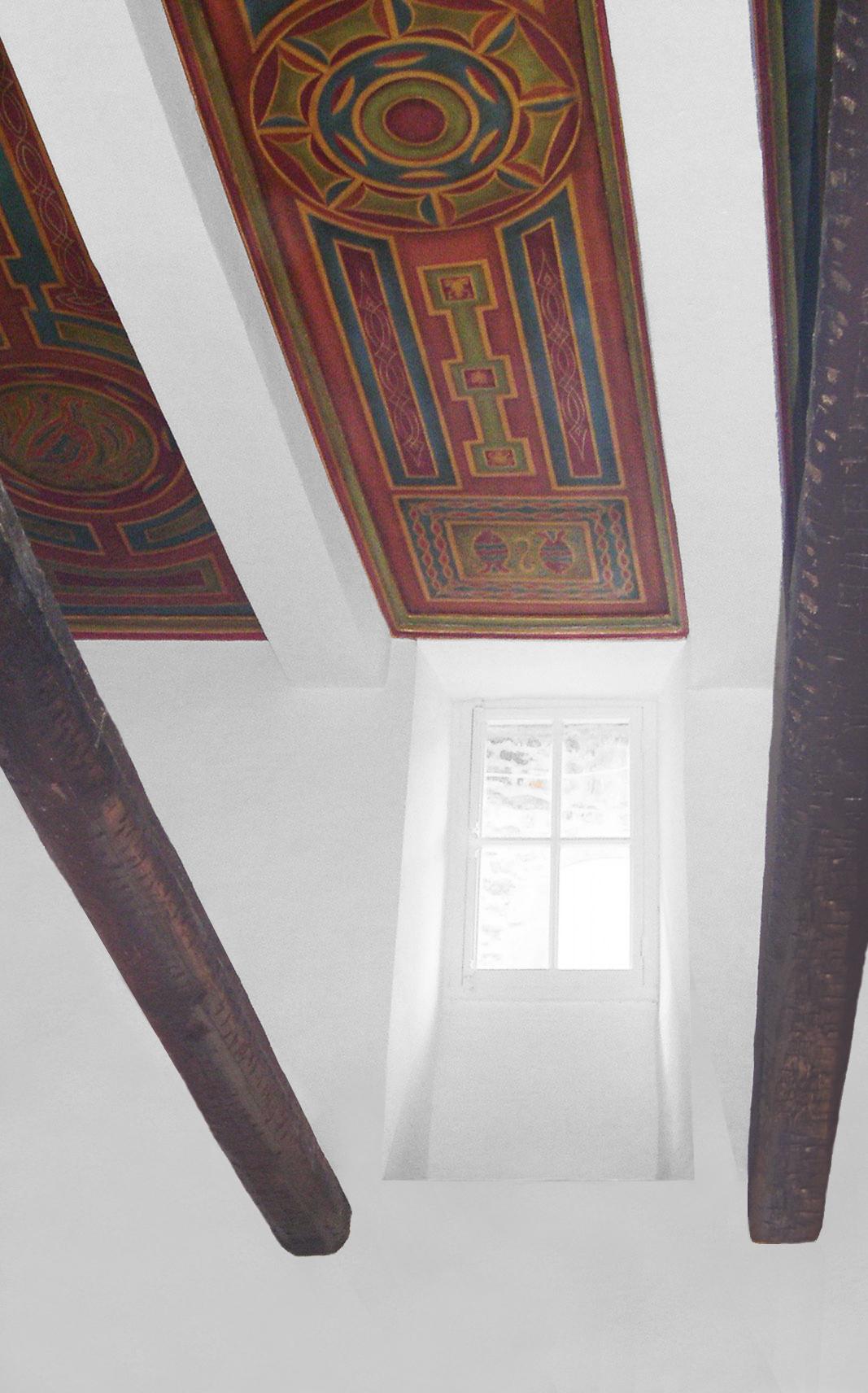 trois plafonds peints