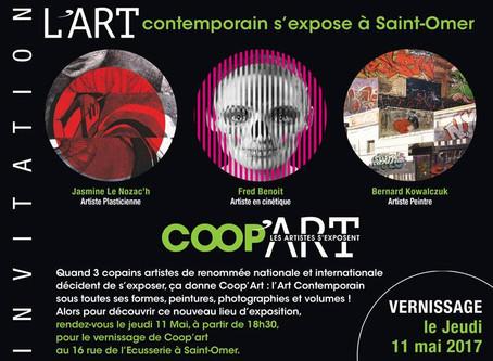 COOP'ART - Jeudi 11 Mai 2017