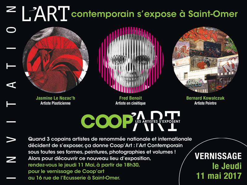 Vernissage COOP'ART Jeudi 11 Mai 2017