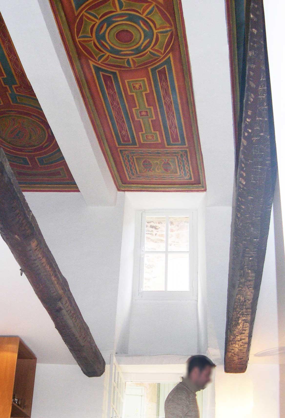 création sur plafond