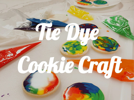 Must-Try Tie Dye Cookies