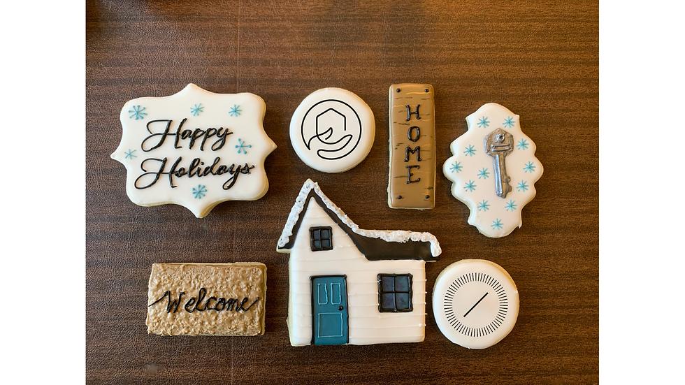 Custom Logo Cookie - House Set