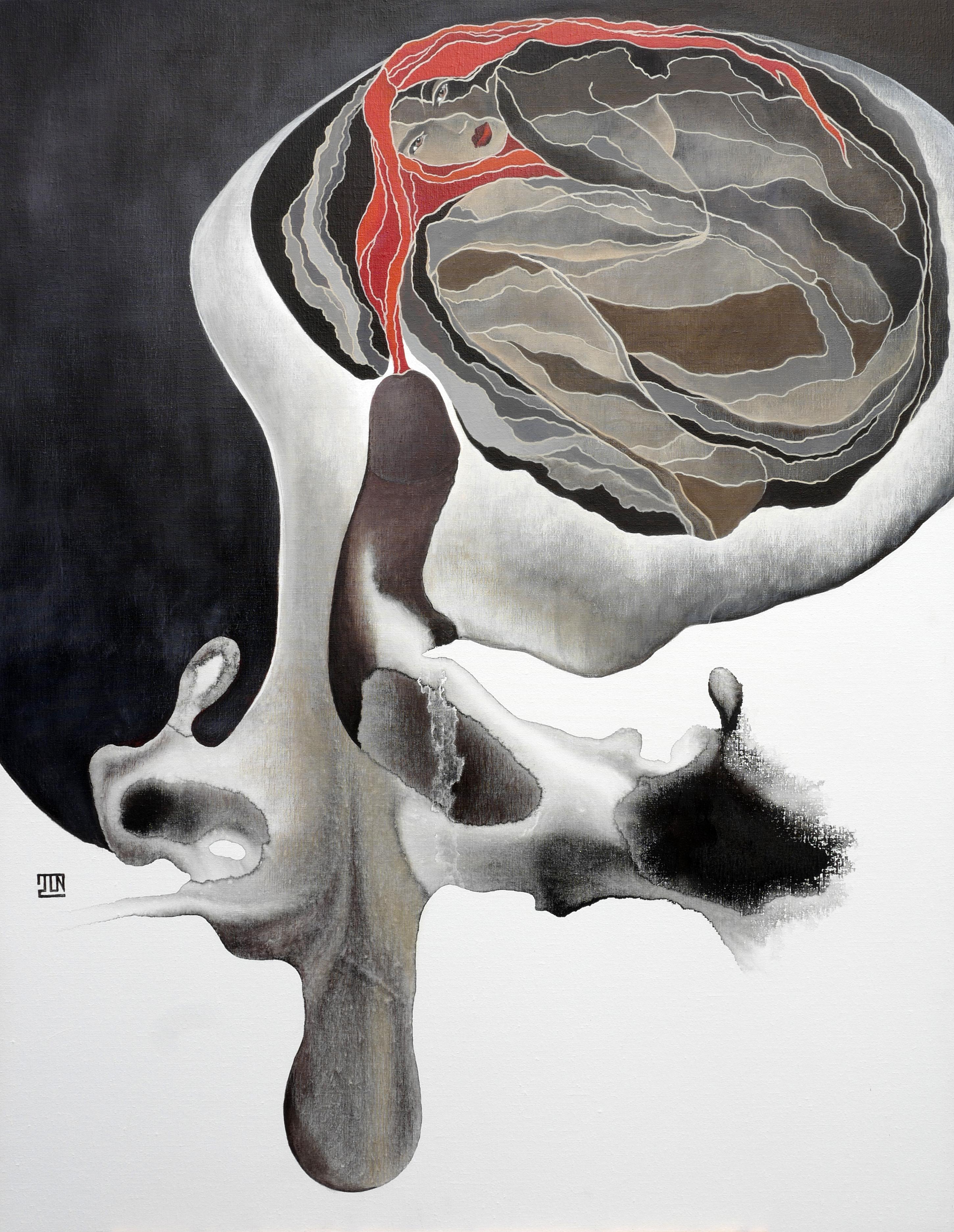 toile gravitation Paint Jas104