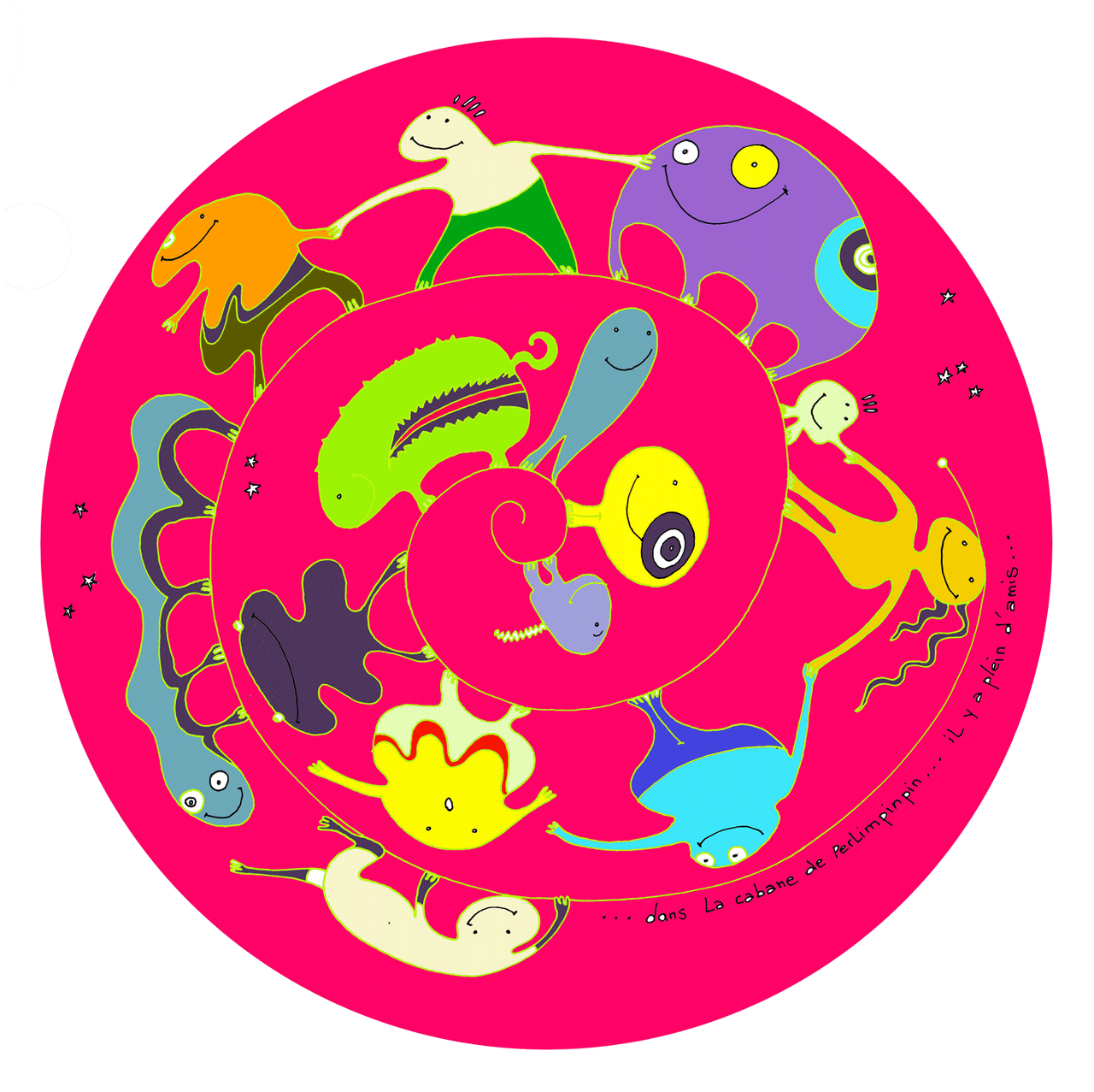 éssai sticker mural