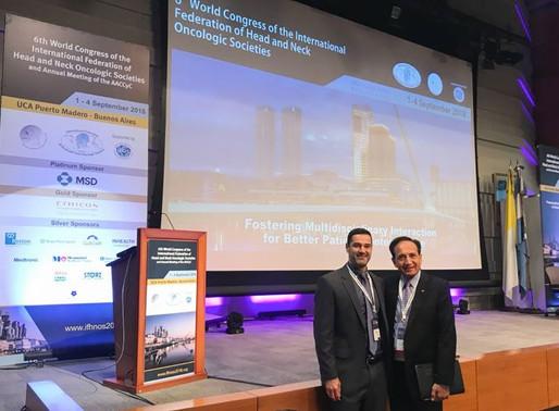 Apresentação de método menos invasivo para Câncer de Boca no Congresso Mundial
