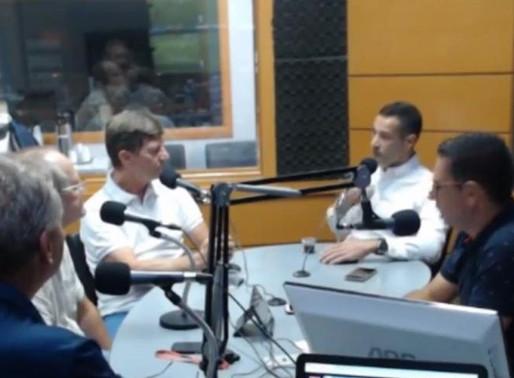Entrevista sobre cirurgia de tireoide para o programa No Mundo da Saúde, da Rádio Independente