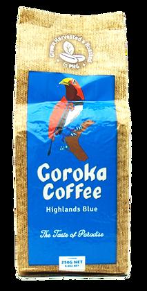 Goroka Coffee Highlands Blue Ground 250g