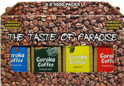 Goroka Coffee 2kg Gift Box 8x250g