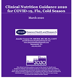 Clinical Nutrition Guidance 2020 (1st Pa