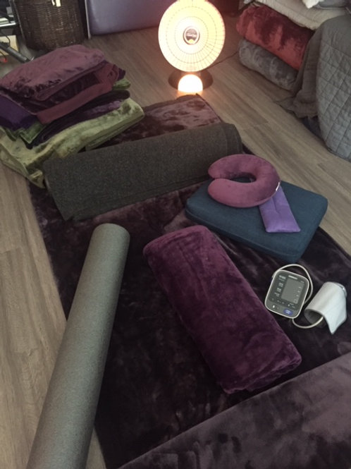 Restorative Yoga--90 minute session