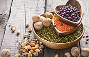 Lentils in a heart wood container.png