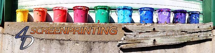 4D Screenprinting Logo