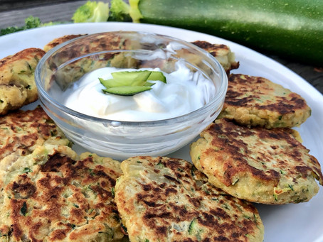Zucchini Fritters are here!