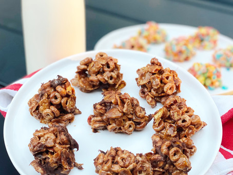 High Protein Cereal Cookies