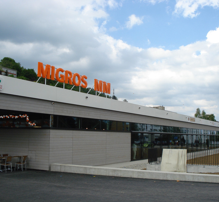 Centre commercial, Chaux-de-Fonds