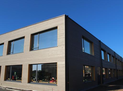 Ecole de Bercher - Un nouveau complexe moderne et durable