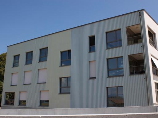 Immeubles de Corsier - Un défi de couleurs