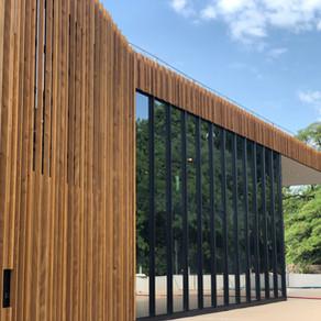 Centre Coop, Vich - L'audace du bois