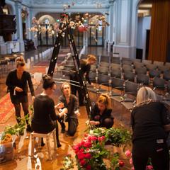 HAPPY DAY @ work: de rozeninstallatie in De Duif