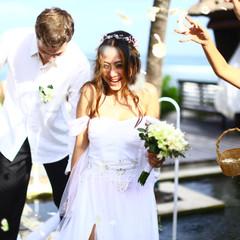 Bruiloft op Bali