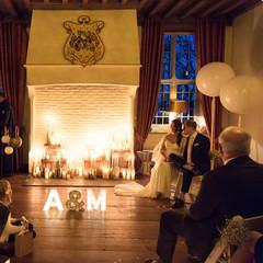 De backdrop van A&M