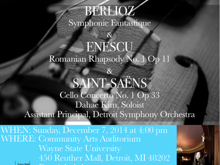 Concert this Sunday!